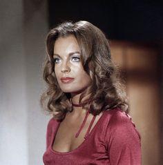 """Romy Schneider, en """"Lily"""" (prostituée) dans Max et les ferrailleurs (1970), de Claude Sautet tiré du roman de Claude Néron."""