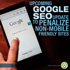 Set to be deployed in less than a month, the new #Google ‪#‎SEO‬ wants your website to be optimized for mobile usage. Are you ready for it?