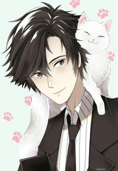 Find images and videos about mystic messenger, jumin and elly on We Heart It - the app to get lost in what you love. Film Anime, Manga Anime, Anime Art, Jumin Han Mystic Messenger, Mystic Messenger Characters, Jumin X Mc, Saeran, Illustrations, Kawaii Anime