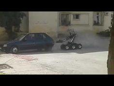 فيديو ... لحظة تفجير سيارة تابعة للخلية الإرهابية التابعة لداعش بفاس !!!