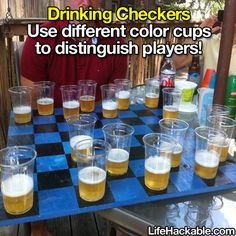 I must be already drunk because all these cups look alike