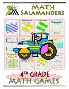 Take a look at our 4th grade math games ebook with over 25 different fun math games to play!