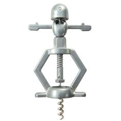 Turn some heads and some corks with this suggestive Corkscrew. Designed with a well-endowed figure squatting over the top, using its natural gifts to pop the cork, this bar accessory is perfect for any wino with a sense of humor.