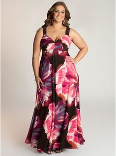 Nikki Plus Size Maxi Dress - Blondellamy'Dean is a boutique just for Curvy Girls. Sizes 10-36.
