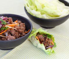 Roulés de laitue asiatique faciles