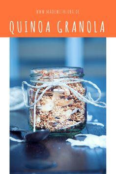 Quinoa Granola zum Frühstück. Gesund, Frühstück Rezepte, Kokosnuss
