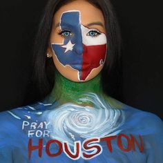 Our thoughts our hearts and our helping hands are with Houston TX! #MehronGivesBack via @houstonfoodbank !! Thank you Tatiana for sharing your art and spreading the message of kindness!  #Repost @tatiana_angel and our friends at @MehronMakeup  Creating Art for A Cause Everyone knows the devastating situation that is currently happening in Houston Texas. But the question is what are you doing to helpThere are many organizations that you can donate to. It's been highly advised to do your…