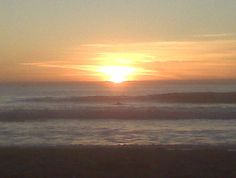 Pacific Beach Sunset when Zach and I were there in 2008