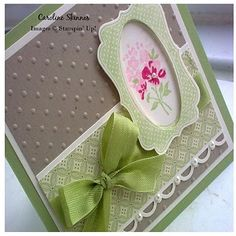 Baby Blossoms,Four Frames, Decorative Label punch