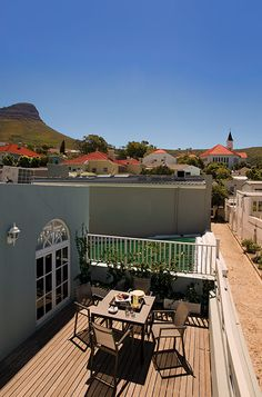 More Quarters Balcony#MoreQuarters #LuxuryAccommodationCapeTown