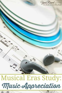 The first in our new 12-month series of Musical Eras studies. This first unit covers the basics of Music Appreciation in six lessons and listening exercises. :: www.yearroundhomeschooling.com #Music #Musical #EraStudies