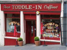 The Toddle In Sweet Shop, Cockburn Street, Edinburgh.