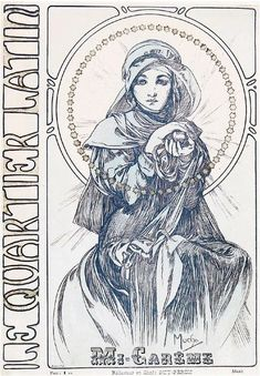 Beautiful Century — muchofmucha: Alphonse Mucha - Quartier Latin