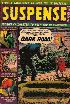 SUSPENSE #12 Pre Code Golden Age Comic Book / Art by RUSS HEATH from The Keith Wigdor Collection