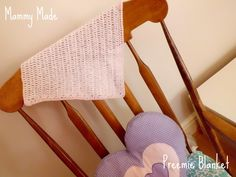 Mammy Made: Preemie blanket free crochet pattern