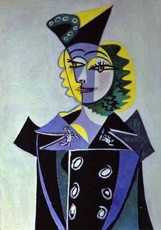 Pablo Picasso「Nusch Éluard」(1937)