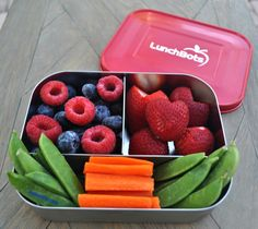 LunchBots Trio fruits & veggies
