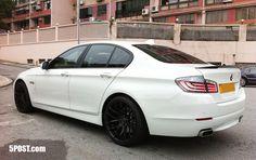 BMW 535i . . .