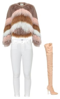 """""""Untitled #37"""" by moixoxoxo on Polyvore featuring Urbancode, Balmain and Paige Denim"""