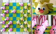 Enkelt påskpyssel med äggkartong | Allas.se Desserts, Tips, Ideas, Pictures, Tailgate Desserts, Deserts, Postres, Dessert, Plated Desserts