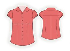 Blouse - Sewing Pattern #4059