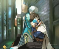 """deepee-chan: """" Guardian Angel listen to this song while looking at this picture…. …you're welcome! I noticed Mikleo how was all worried to Sorey, always running towards him whenever he falls down or got hurt.. then I realize, aren't Seraphims some..."""
