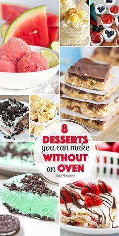 Desserts you can mak