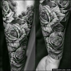 Rosas antebrazo