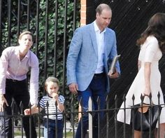 #PrinceGeorge waves goodbye to #PrinceWilliam and the #DuchessofCambridge last…