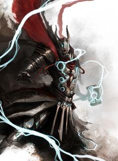 Medieval reimagining if Thor.