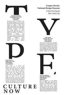 In questa Bozza ho cercato invece di rendere il tutto un po' più ritmico posizionando le lettere che formano la parola TYPE in livelli diversi tra di loro. La continuazione del titolo è stata messa sotto e l'indirizzo sopra.