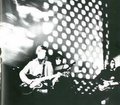 TheExploding Plastic Inevitable with Velvet Underground & Nico on stage (1966)