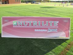 Nutrilite: Best of nature. Best of science.    From my trip to Phoenix to play football with Kurt Warner.