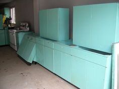 How much are my metal kitchen cabinets worth? - Retro Renovation.  This site estimates our unit to be less than $250 if in pristine condition.