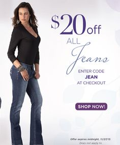 Tall-fit jeans are going like hotcakes, so make use of this $20 offer before stock runs out. Simply click through and add the code 'JEAN' at checkout - offer ends Midnight 27/11  http://www.tallwomensclothes.com/category/jeans  #fashion #coupon #jeans #sale #discount