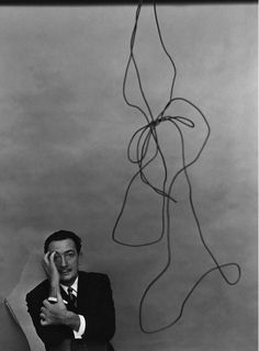 Salvador Dali (Arnold Newman's Incredible Artist Portraits http://www.mymodernmet.com/profiles/blogs/arnold-newmans-incredible