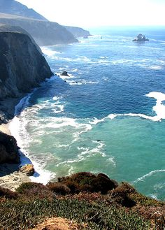 BIG SUR, PACIFIC COAST HIGHWAY, CALIFORNIA, US  One of the world's best drives, tourists can see towering redwoods and jagged cliffs.  Picture: Flickr user Hortulus