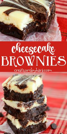 Best Cheesecake Brownies - these marbled cream cheese brownies are so decadent!- Best Cheesecake Brownies – these marbled cream cheese brownies are so decadent! … Best Cheesecake Brownies – these marbled cream cheese… - Smores Dessert, Dessert Dips, Dessert Aux Fruits, Dessert Chocolate, Delicious Chocolate, Brownie Desserts, Brownie Toppings, Easy Desserts, Brownie Mix Recipes