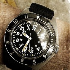 Benrus Watch, Type One, Seiko Watches, Patek Philippe, Enabling, Vintage Watches, Cool Watches, My Eyes, Omega Watch