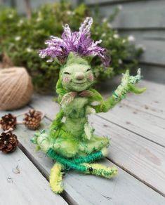 Textile Sculpture, Soft Sculpture, Jennifer Cruz, Toy Display, Fairytale Art, Fairy Art, Felt Animals, Xmas Gifts, Needle Felting