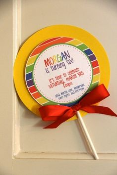 Lollipop Birthday Party | http://awesome-party-ideas-collections.blogspot.com