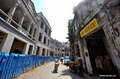 Historic street reconstructed in Hainan province - People's Daily Online