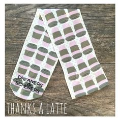 Thanks A Latte -D&S Equestrian Knee-High Boot Sock