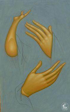 Без названия Byzantine Icons, Byzantine Art, Religious Icons, Religious Art, Painting Process, Painting On Wood, Religious Paintings, Best Icons, Catholic Art