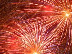 Fireworks display celebrating the 100th birthday of the Cape Cod Canal - July 29, 2014.
