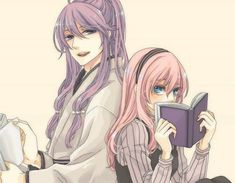 Kaito, Hatsune Miku, Gakupo Kamui, Manga Love, I Love Anime, Me Me Me Anime, Couples Anime, Cute Couples, Mirai Nikki