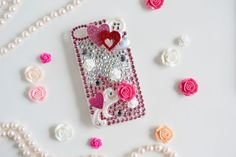DIY Rhinestone Cellphone Case https://womenslittletips.blogspot.com http://amzn.to/2lkg9Ua
