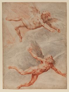 Giuseppe Cesari (Cavaliere d'Arpino), Daedalus and Icarus, late 16th or early 17th century