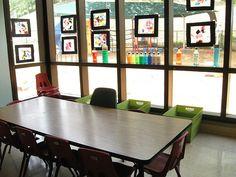 Preschool Art Space by lizpowers, via Flickr