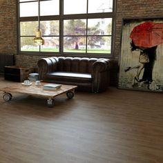 Encantador salón de estilo industrial @N